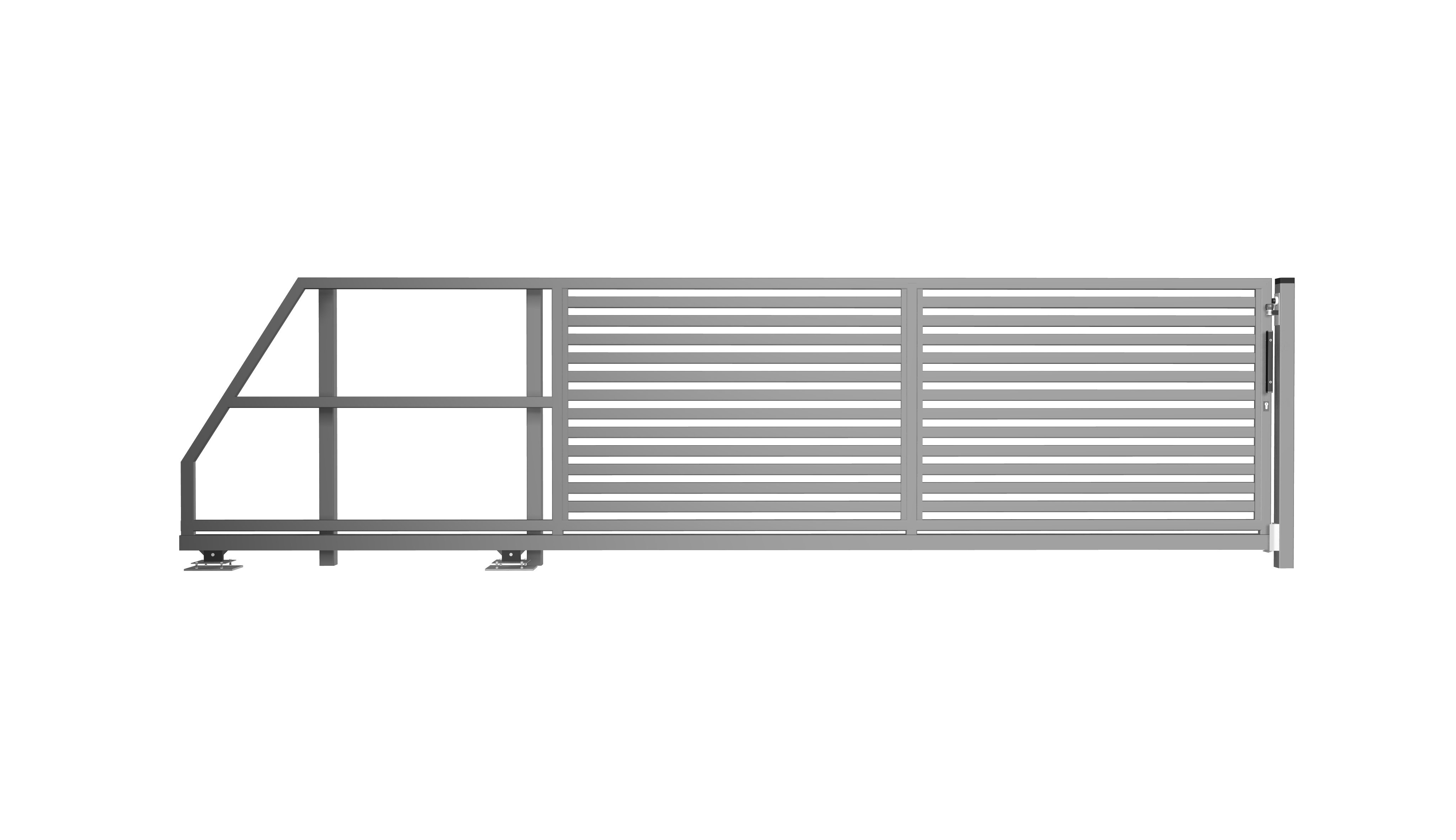 brama suwana palisada pozioma p63